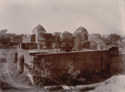 Old Palaces in Deeg fort